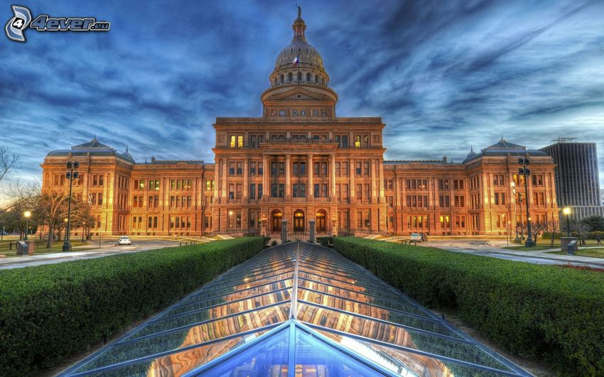 The Capitol, Texas, USA, HDR