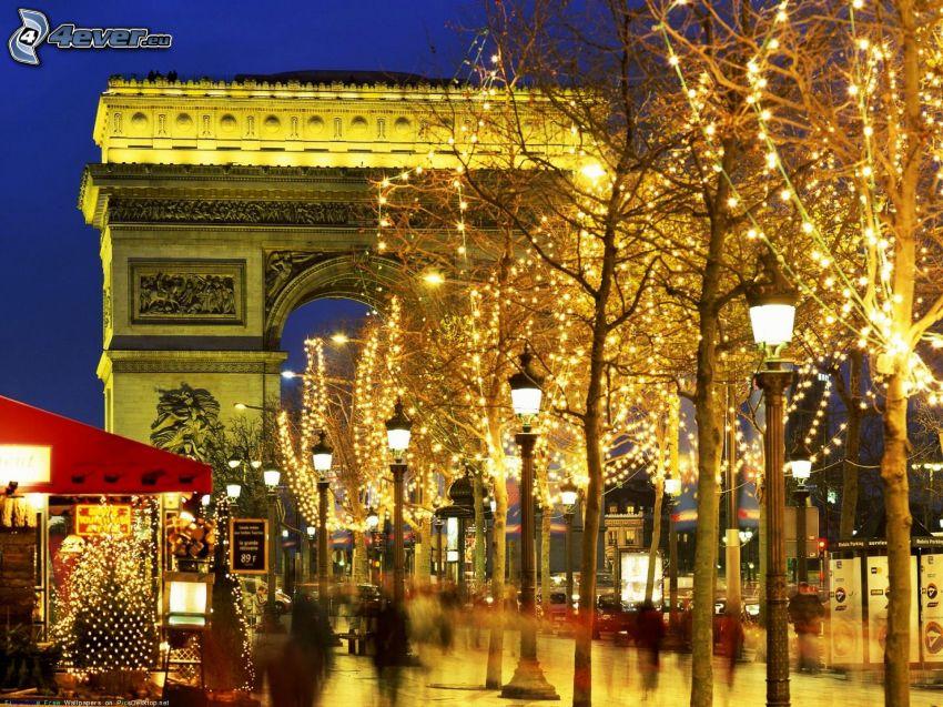 Triumfbågen, Paris