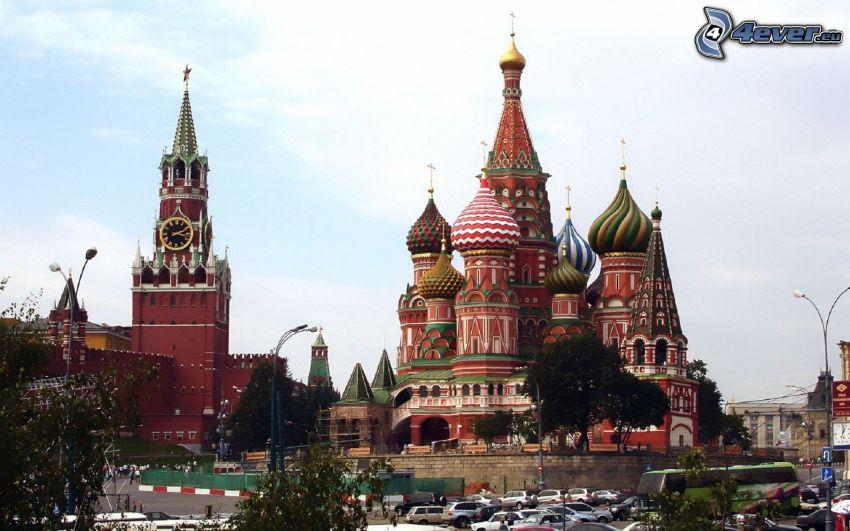 Vasilijkatedralen, Kremlin, Moskva, Ryssland