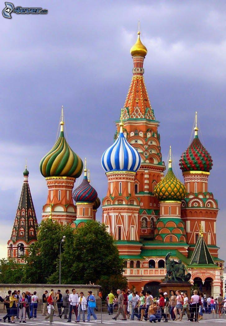 Vasilijkatedralen, människor