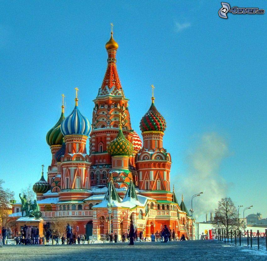 Vasilijkatedralen, torg
