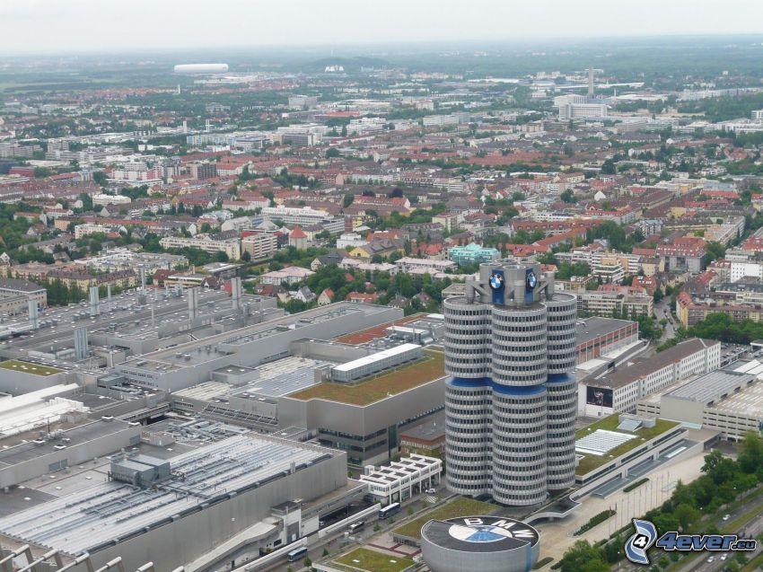 BMW, kontorsbyggnad, Munich