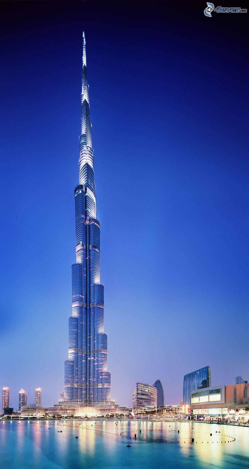 Burj Khalifa, Dubai, skyskrapa