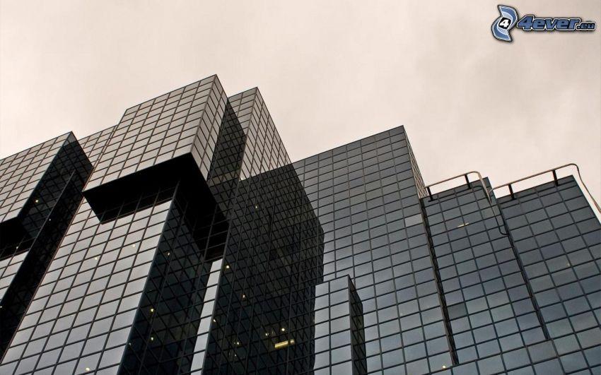 byggnader, glas