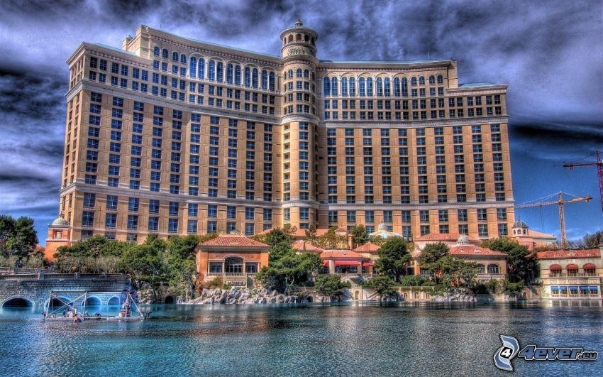 hotel Bellagio, Las Vegas, hotel, HDR