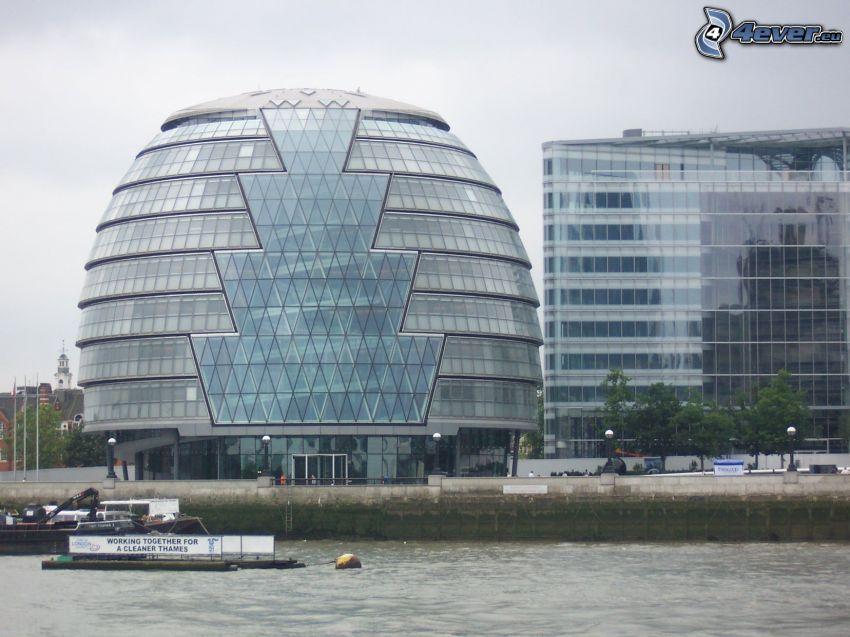 kontorsbyggnad, London, Thames