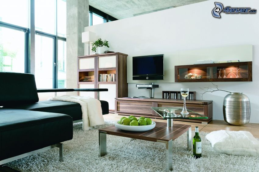 lyxigt vardagsrum