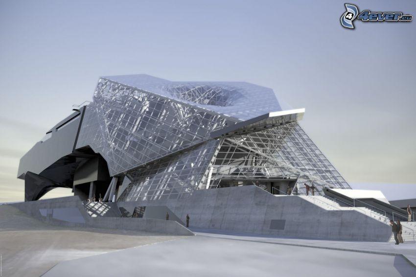 Musée des Confluences, museum