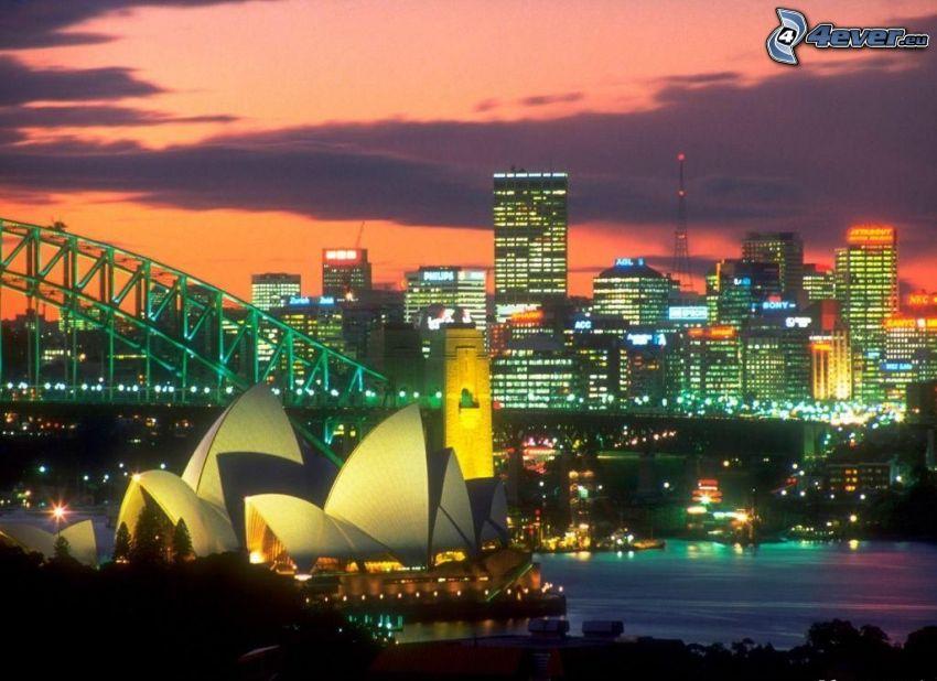 Sydney Opera House, Sydney Harbour Bridge, Australien