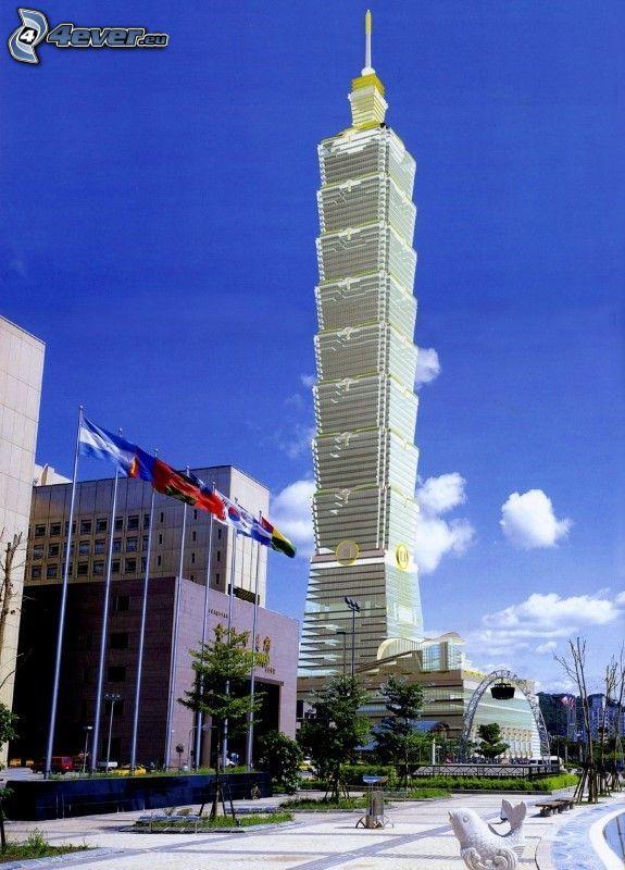 Taipei 101, skyskrapa