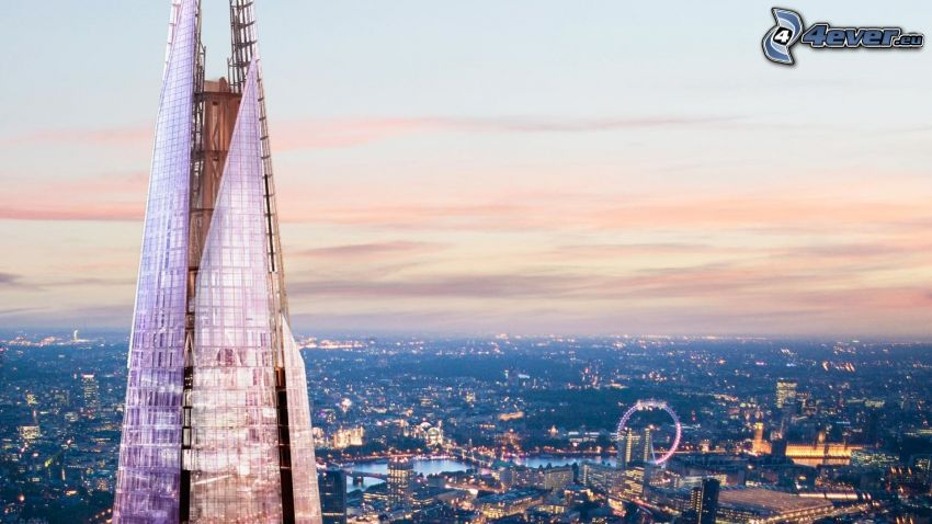 The Shard, London, London Eye