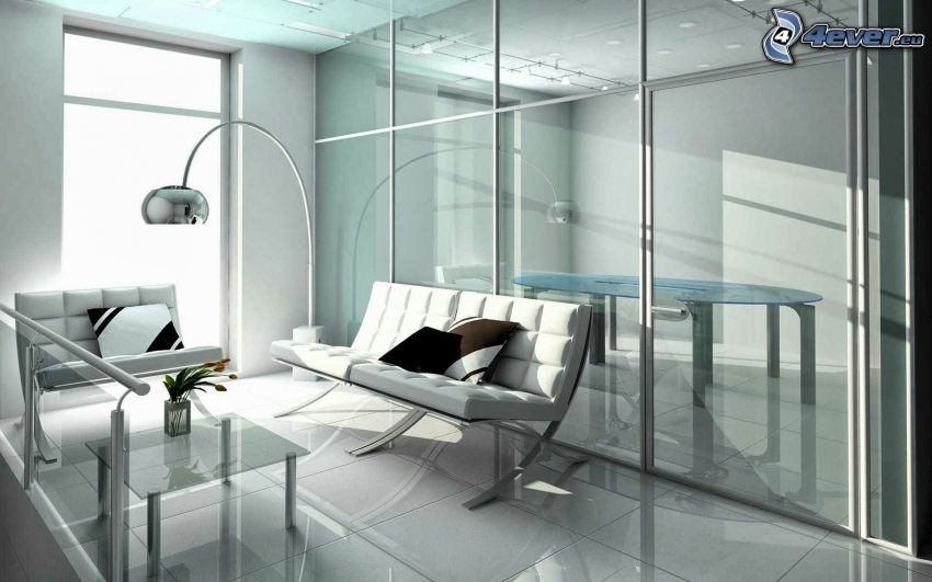 vardagsrum, soffa, lampa