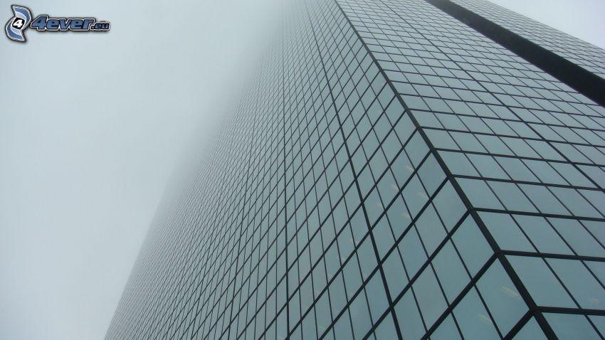 skyskrapa, dimma