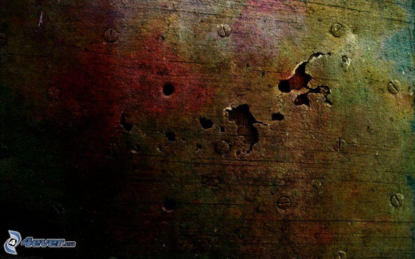 sprucken vägg