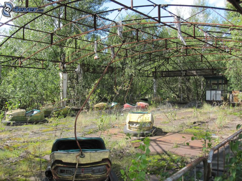 autodrom, buskar, Pripyat