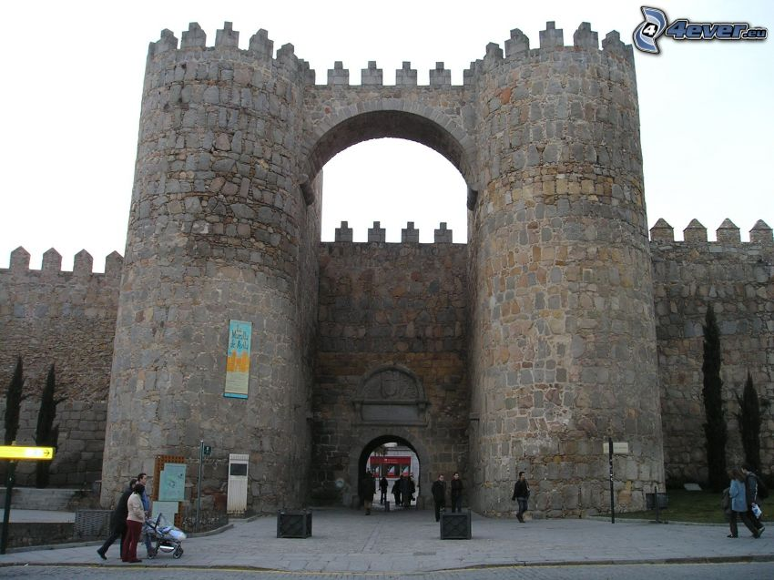 Ávila, Spanien, vallar