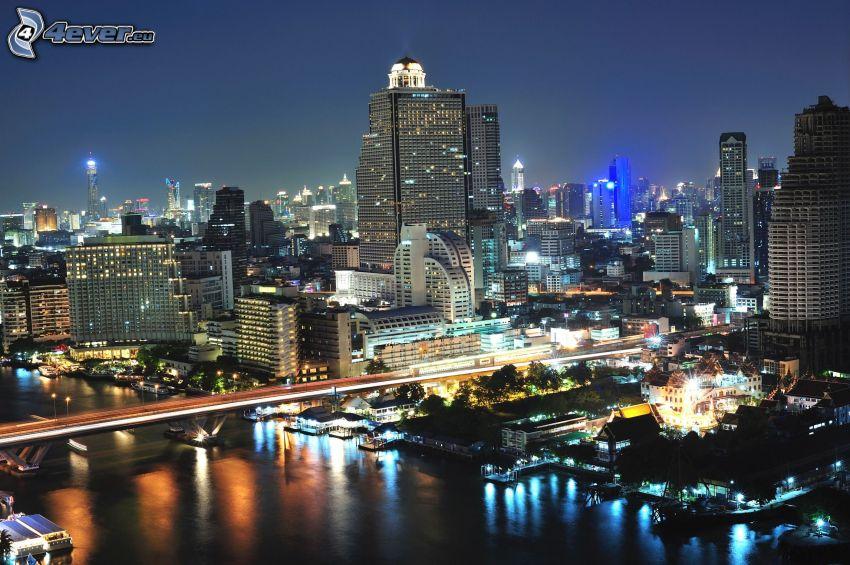 Bangkok, nattstad