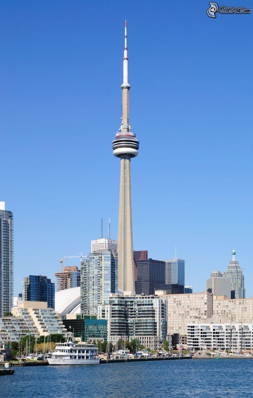 CN Tower, Toronto, skyskrapor