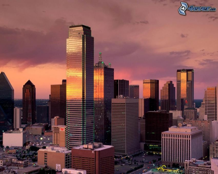 Dallas, Texas, skyskrapor