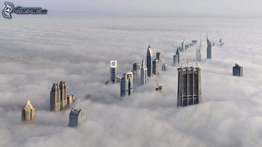 Dubai, dimma, inversion