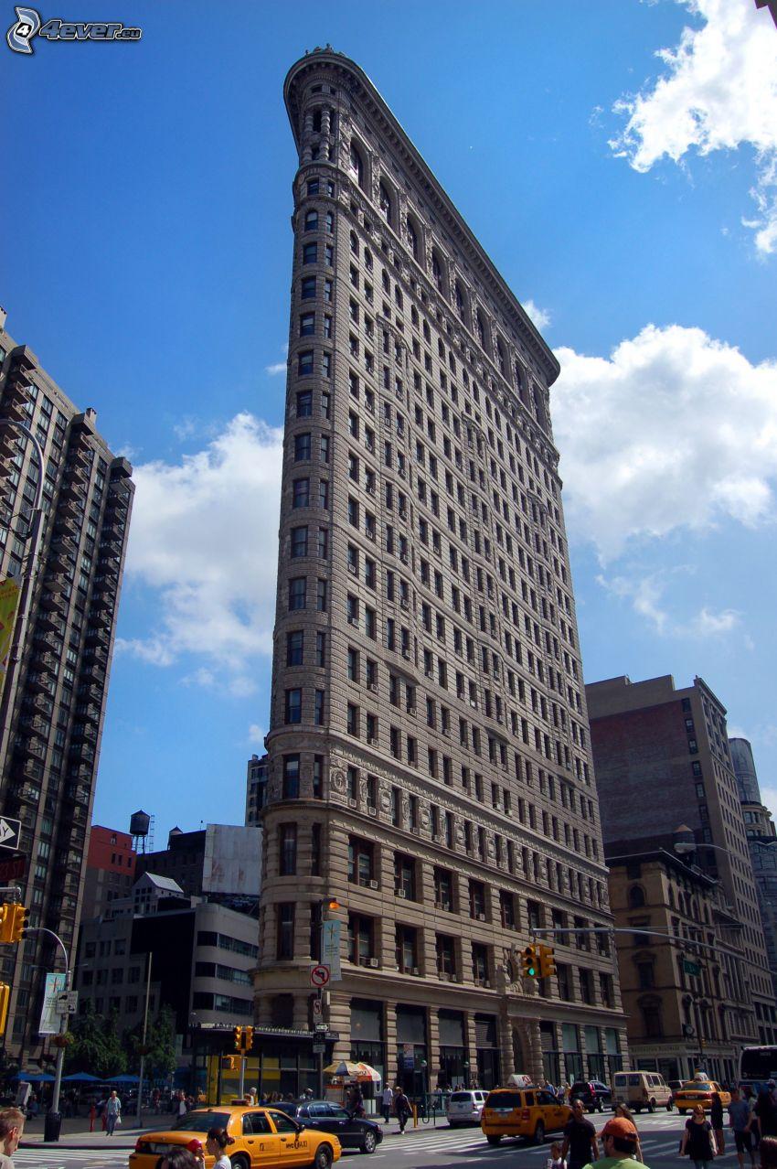 Flatiron, Manhattan, gata