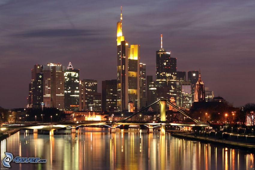 Frankfurt, skyskrapor