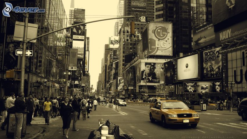 gata, NYC Taxi, New York