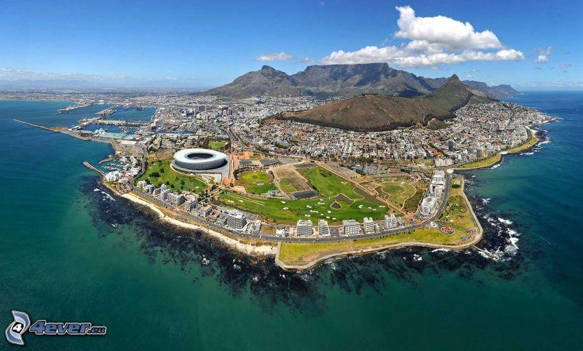 Kapstaden, badort, Cape Town Stadium