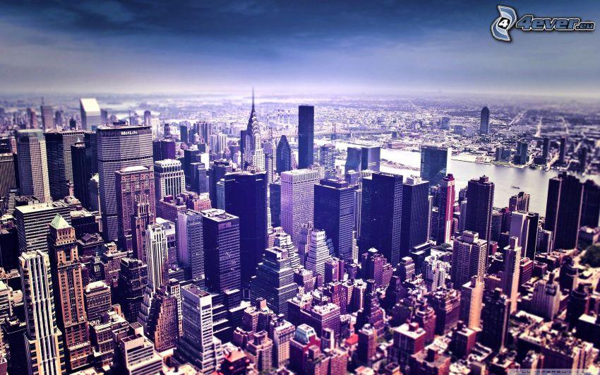 Manhattan, New York, skyskrapor