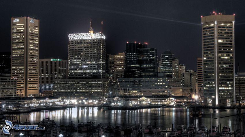 Maryland, nattstad