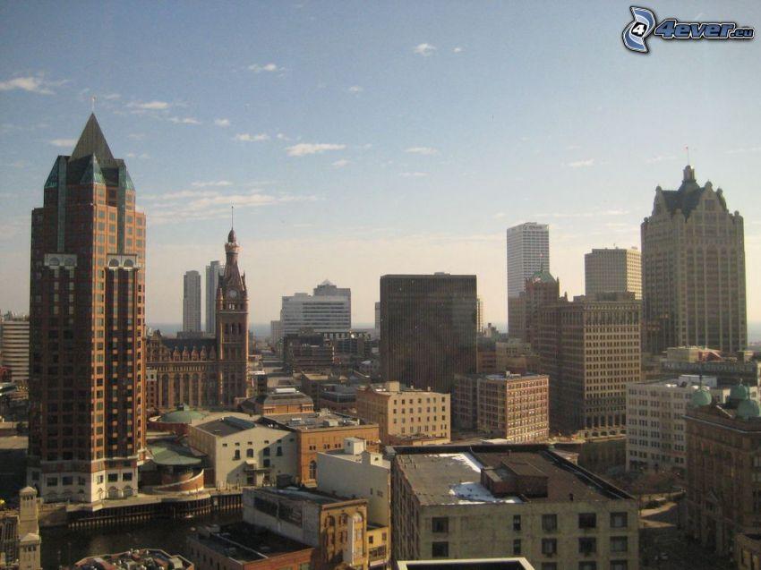 Milwaukee, skyskrapor