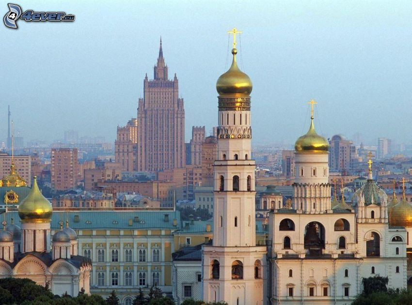 Moskva, Ryssland, kyrka