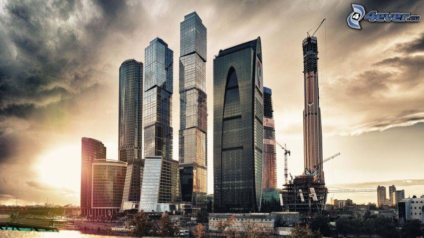 Moskva, skyskrapor