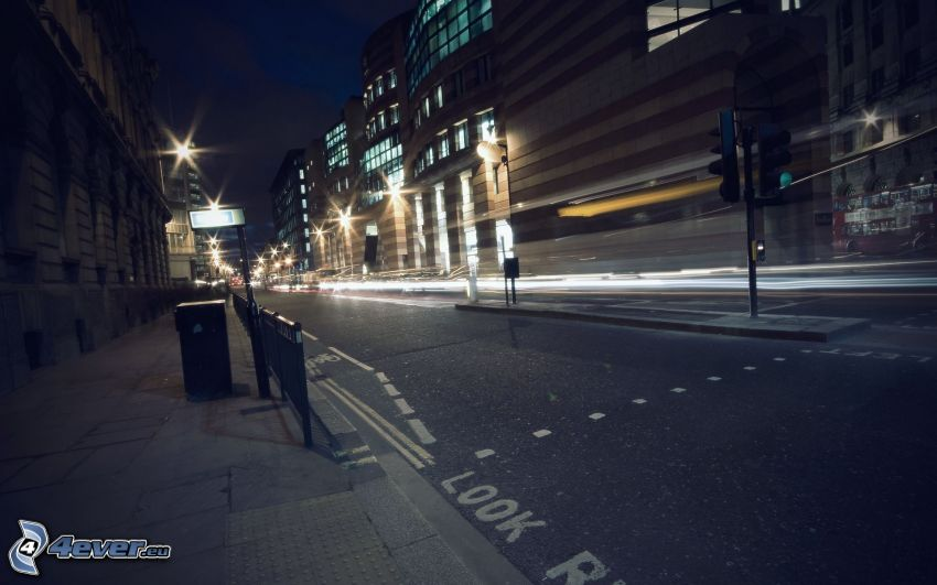 nattstad, gata