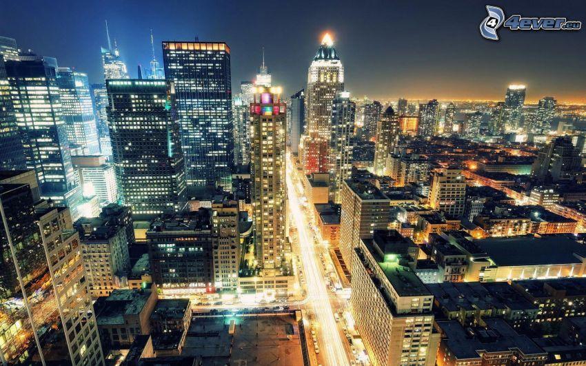 New York, nattstad