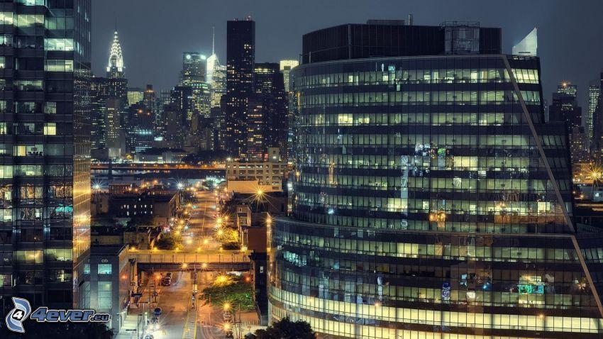 New York, skyskrapor