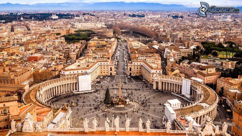 Petersplatsen, Vatikanstaten