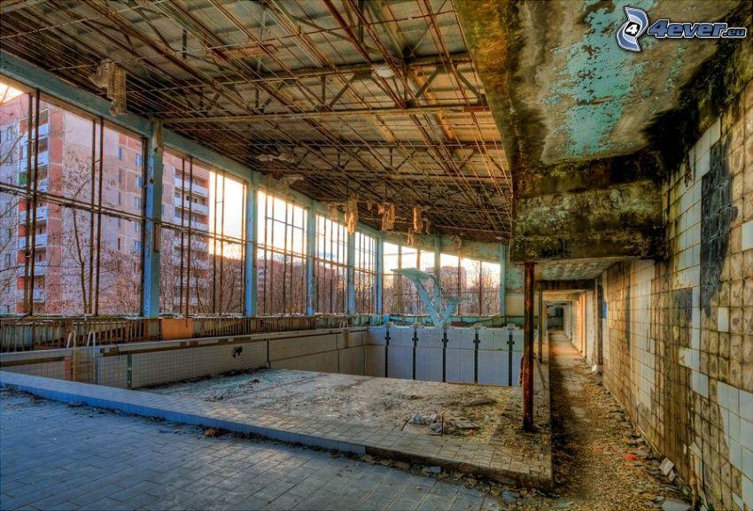 Pripyat, bassäng