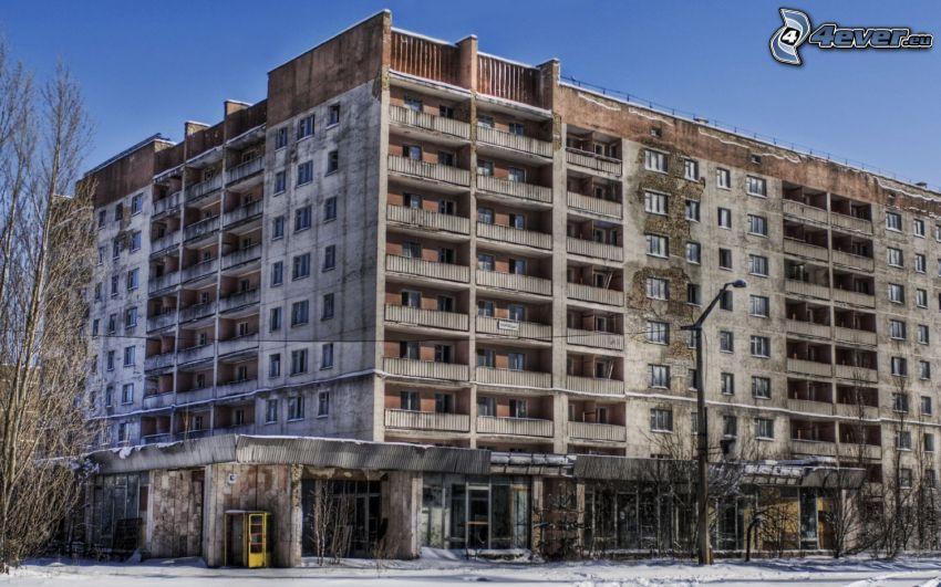 Pripyat, lägenheter