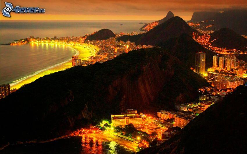 Rio De Janeiro, nattstad