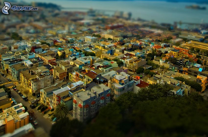 San Francisco, diorama