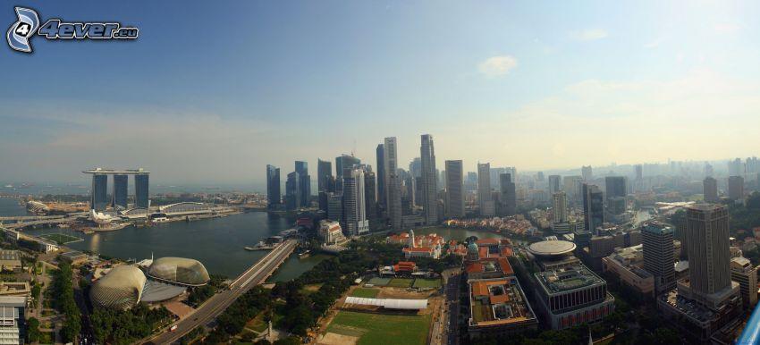 Singapore, skyskrapor