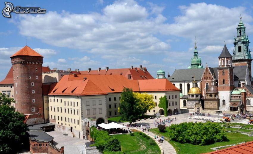 Slottet Wawel, Krakow, gård