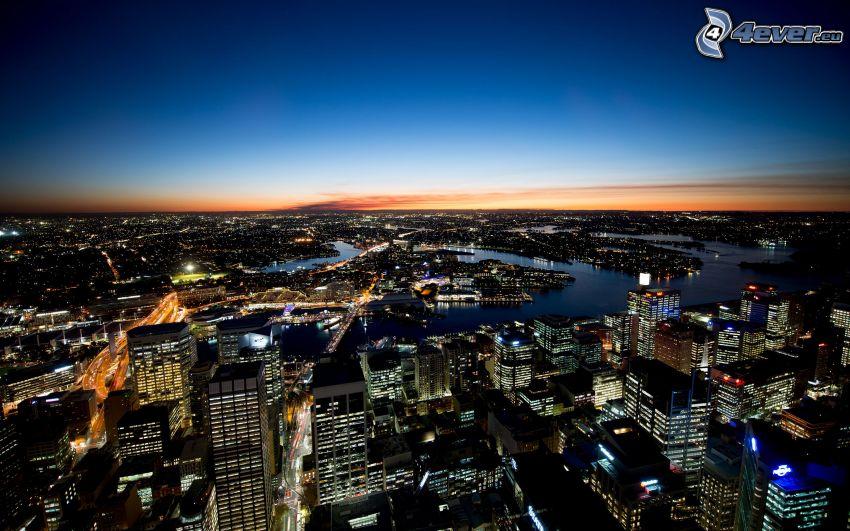 Sydney, nattstad