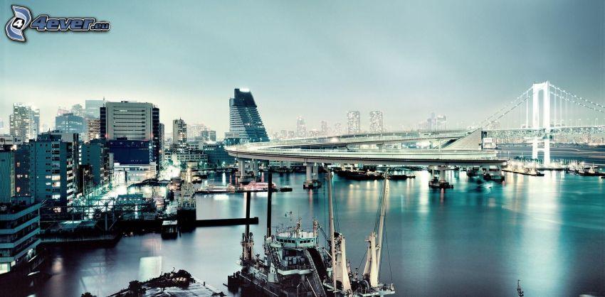 Tokyo, hamn