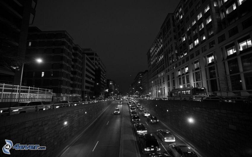 Washington DC, gata, nattstad