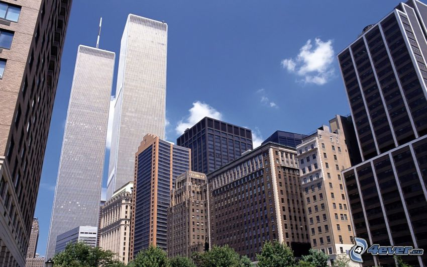 World Trade Center, New York, skyskrapor