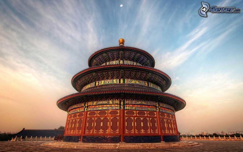 tempel, Kina