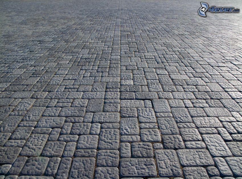trottoar, beläggning