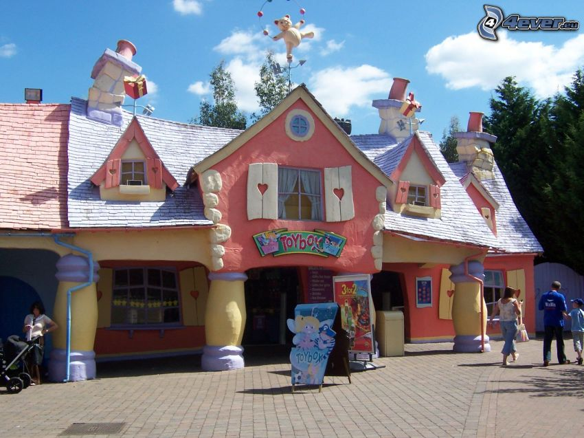 unikt hus, socker